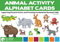 Animal Activity Alphabet Cards!