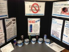 Energy Drink Display