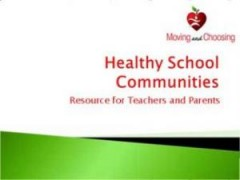 Healthy School Communities (PowerPoint)