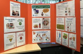 Healthy Lunch Display – Pack a Power Lunch