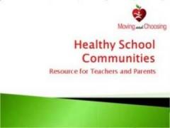 Healthy School Communities (PowerPoint)